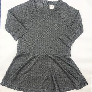 GAP kids Girls Herringbone Dress XS (4-5)